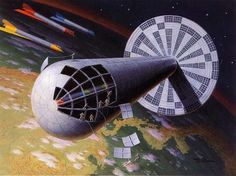 The Space City That Could Have Been, If Not For Wernher Von Braun