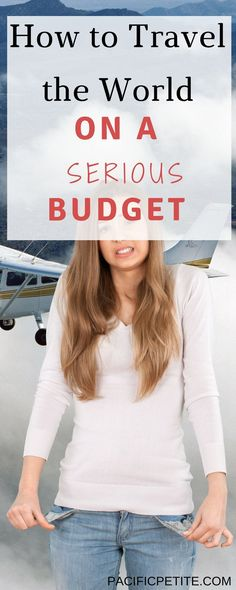 Are you dreaming of traveling the world but you're bank account is the only thing holding you back? I'll show you exactly how to travel the world when you're on a serious budget. Broken down in 8 simple steps! Enjoy traveling to any destination and cross