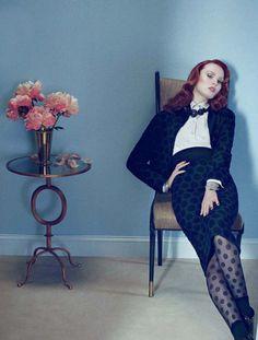 Karen Elson by Emma Summerton