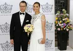 Crown Princess Victoria and Prince Daniel attend Polar Music Prize 2016 at Stockholm Concert Hall on June 16, 2016 in Stockholm