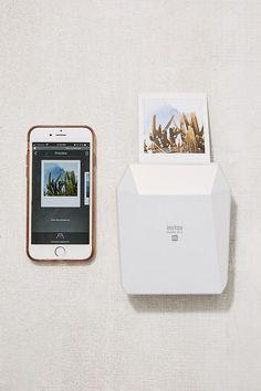 Fujifilm Share SP-3 Wireless Square Mobile Printer - Mini printer. Instantly print on the go.