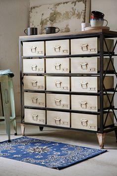 Slide View: 4: Industrial Storage Dresser