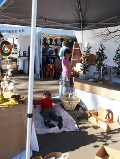 Setting up your booth at a craft fair