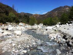Thurman Flats, San Bernardino National Forest,CA - California Travel Blog - Running Water in August!