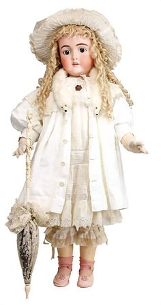 """KLEY & HAHN """"Walküre"""" very large jointed doll with the"""