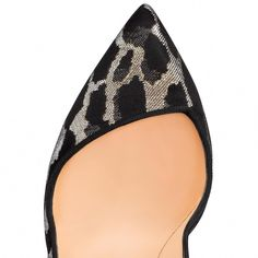 c858ddb71f96 Christian Louboutin United States Official Online Boutique - Corneille 100  Black-Gold Black Lurex Feline available online. Discover more Women Shoes  by ...