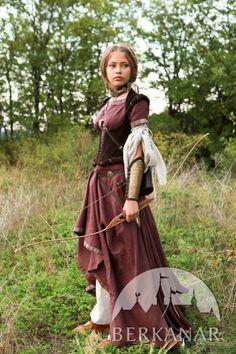 """Средневековый костюм """"Лучница"""" фото"""