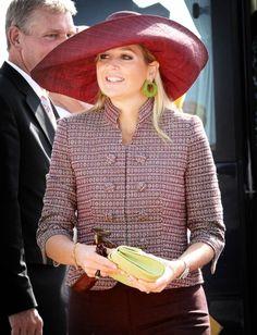 Princess Máxima, January 11, 2012 in Madagascar Hat Company