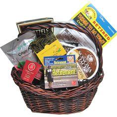 Fun retirement gift baskets to send in toronto mississauga canada oshawa pickering markham ontario