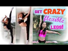 How to Get CRAZY, CONTORTIONIST Leg Flexibility - FAST! - YouTube