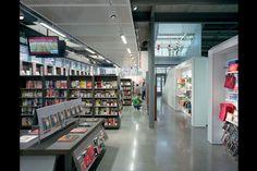 University of Arkansas Bookstore, Fayetteville, Ark., by Martin Roberts Design