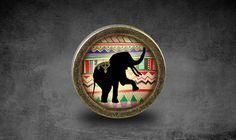 Elephant Handmade Vintage Bronze Dresser knobs by jade4wood