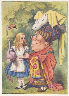 Alice, Flamingo and the Dutchess