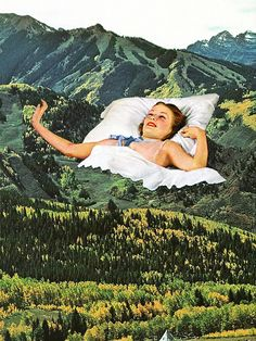Rising Mountain via Eugenia Loli Collage. Click on the image to see more!
