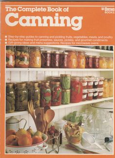 Vintage The Complete Book of Canning 1982 Ortho by ShopHereVintage