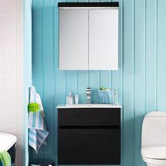 Bathroom, Vanity, Decor, Lighted Bathroom Mirror, Furniture, Mirror, Bathroom Lighting, Bathroom Mirror, Home Decor