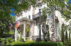 Looking for a place to stay in Savannah? We've got you covered with this truly Southern bed-and-breakfast.   Hamilton-Turner Inn in Savannah, Georgia   Southern Living Handpicked Hotels