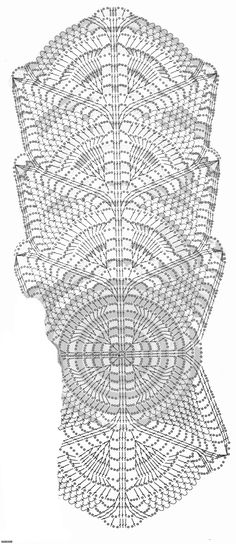 Нарядный шарфик крючком