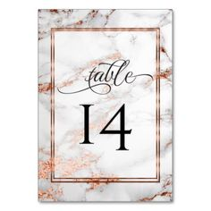 Copper and Marble Wedding Bold Elegance Card - elegant wedding gifts diy accessories ideas