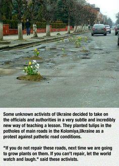 Ukrainian activists