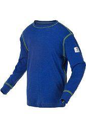 Janus 100% Merino Wool Baby Kids Long Sleeve Round Neck T-shirt Made in Norway