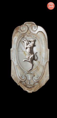 Coat of arms / rampant greyhound