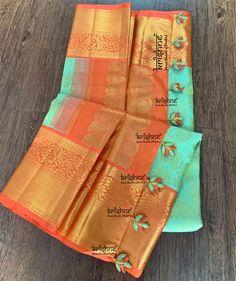 Saree Tassels Designs, Saree Kuchu Designs, Blouse Designs, Indian Weddings, Saree Collection, Saree Wedding, Silk Sarees, Lehenga, Hand Embroidery