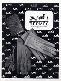 Hermès 1946 Retro Advertising, Vintage Advertisements, Vintage Ads, Vintage Designs, Vintage Gloves, Vintage Graphic, Vintage Posters, Vintage Purses, Vintage Handbags