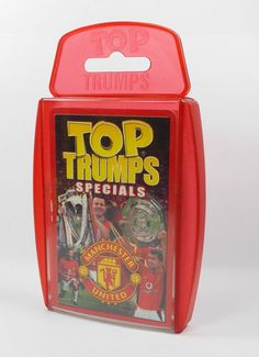 Top Trumps - Manchester United 2003 - Complete Set (2)