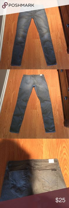 FLASH SALE!  Hudson Krista Super Skinny Jeans Hudson Krista Super Skinny Jeans. Traditional 5 pocket styling. Zip fly. Machine washable. Make this pair of gray denims a staple in your closet Hudson Jeans Skinny