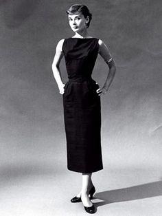 Coco Chanel's dress.