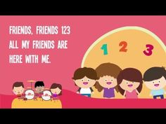 (19) Friends, Friends 123 Song for Kids with Lyrics | Friendship Songs for Children | The Kiboomers - YouTube