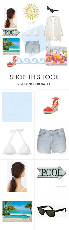 """""""#4"""" by ticket-to-ride ❤ liked on Polyvore featuring MICHAEL Michael Kors, Topshop, Urban Outfitters, Ray-Ban and ADRIANA DEGREAS"""