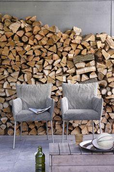 Moderne eetkamer met stoelen van label tafels pinterest interieur met and van - Deco eetkamer oud ...