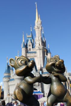 Chip and Dale at Disney