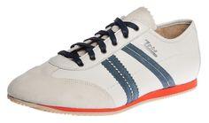 467c931b08db2 Zeha Berlin - Klassiker - White blue - bianco blu - Weiss Blau - vintage -