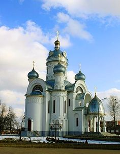 Eastern Orthodox Church of St. Michael Archangel in Biaroza, Belarus my home where family is at