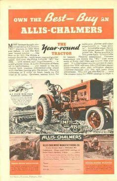 44 best tractor ad\u0027s images in 2019 antique tractors, old tractors