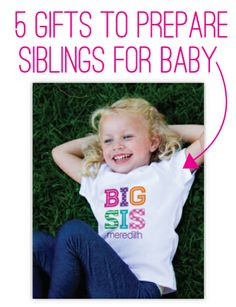 5 Gift Ideas to Prepare Big Siblings for New Babies