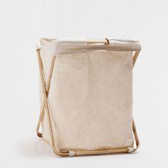 FOLD-UP LAUNDRY BASKET - Baskets - Bathroom | Zara Home Sverige / Sweden