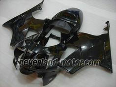 Carenado de ABS de Honda VTR1000 RC51 2000-2006 - Negro Puro