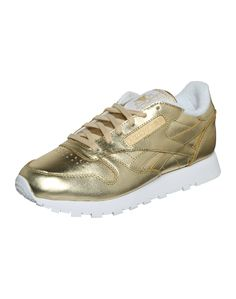 Goldige Aussicht von Reebok @ABOUT YOU http://dein.aboutyou.de/p/reebok-classic/sneaker-low-spirit-2205107