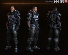 ArtStation - Cmd. Shepard - Alt - Mass Effect 3, Jaemus Wurzbach