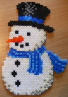 Snowman by ki-vi, via Flickr