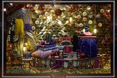 2015 liberty of london christmas window display - Google Search