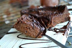 Healthy mud cake (no eggs), Hälsosam Kladdkaka - utan ägg