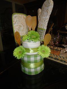 Bridal Shower Cake I made for Brittany's shower :)