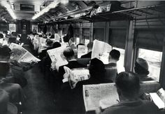 Proof that technology hasn't changed who we are...because after all, we've always been pretty into our media. (PHOTOS)