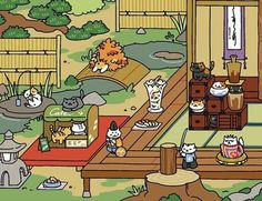 Tubbs is one of the many cats you can collect in the game Neko Atsume: Cat Collector. Neko Atsume Kitty Collector, Cat Collector, Rare Cats, Cats And Kittens, Games Gratis, Manga Anime, Cat App, Cat Game App, Japanese Cat