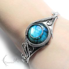 ANIRTIAL  - silver and labradorite by LUNARIEEN.deviantart.com on @deviantART